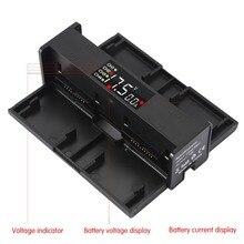 4 в 1 портативный беспилотный аккумулятор зарядное устройство для DJI Mavic 2 Pro конвертер зума батарея зарядка концентратор Смарт зарядное устройство цифровой светодиодный экран