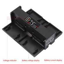 Chargeur de batterie Drone Portable 4 en 1 pour DJI Mavic 2 Pro convertisseur de Zoom moyeu de charge de batterie chargeur intelligent chiffre écran LED