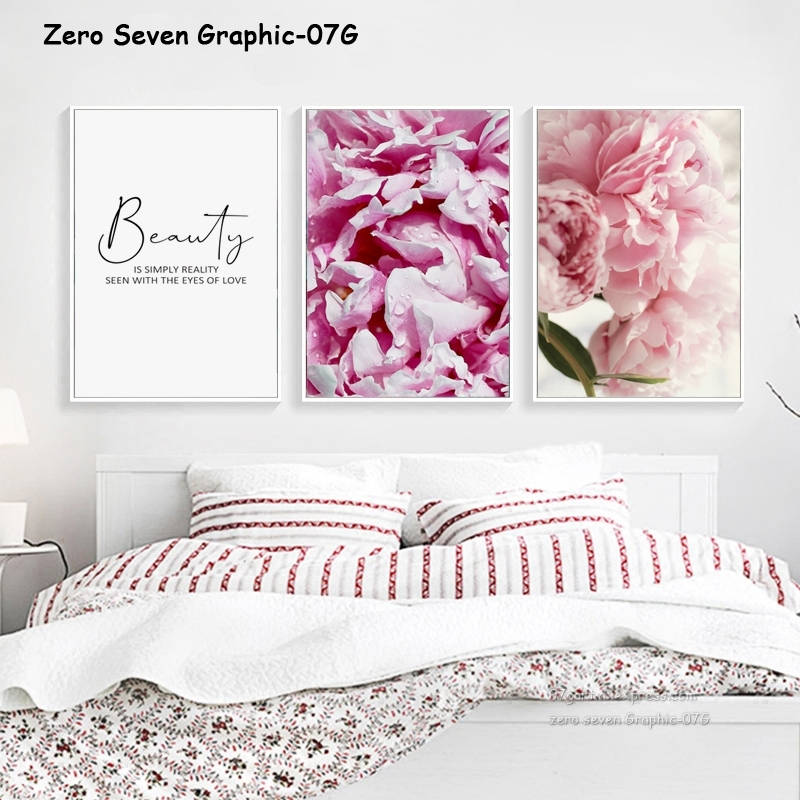 HTB1hVhEJ3HqK1RjSZFgq6y7JXXaY Canvas Painting Nordic Decor Elegant Peony Flower Phrase Poster And Print Wall Art Picture For Living Room Home Decoration