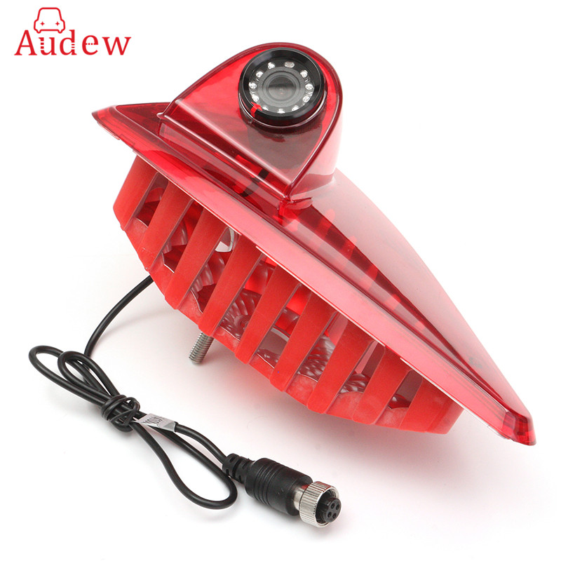 Car Brake Light Rear View Reverse Backup Camera 3RD Night Vision For Renault/Master  with Built-in 10pcs IR Led Light