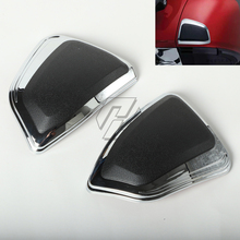 Chrome motorcycle pommel box protective cover decorative cover case for HONDA Goldwing 1800 GL1800 F6B 2012-2017 air intake accent grilles led chrome case for honda f6b goldwing gl1800 goldwing 2012 2016