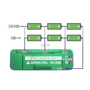 Image 5 - 3S 20A Li Ion Lithiumแบตเตอรี่18650เครื่องชาร์จPCB BMS Protection Board 12.6Vเซลล์64X20X3.4mmโมดูล