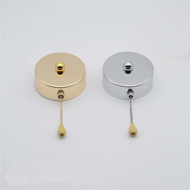 beads zipper pull rope wall switch with 5cm beaded rope switch&wooden handle for ceiling light wall light beside lamp цена и фото