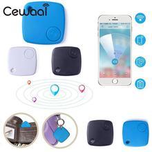 Cewaal Für S-1 Mini Smart Bluetooth 4,0 GPS Tracker Locator Pet Kind Anti Verloren Alarm Für Telefon Positionierung Schlüsselfinder