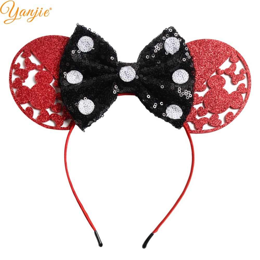 Christmas Minnie Ears 2019.Festival Minnie Mouse Ears Headbands 2019 Valentine