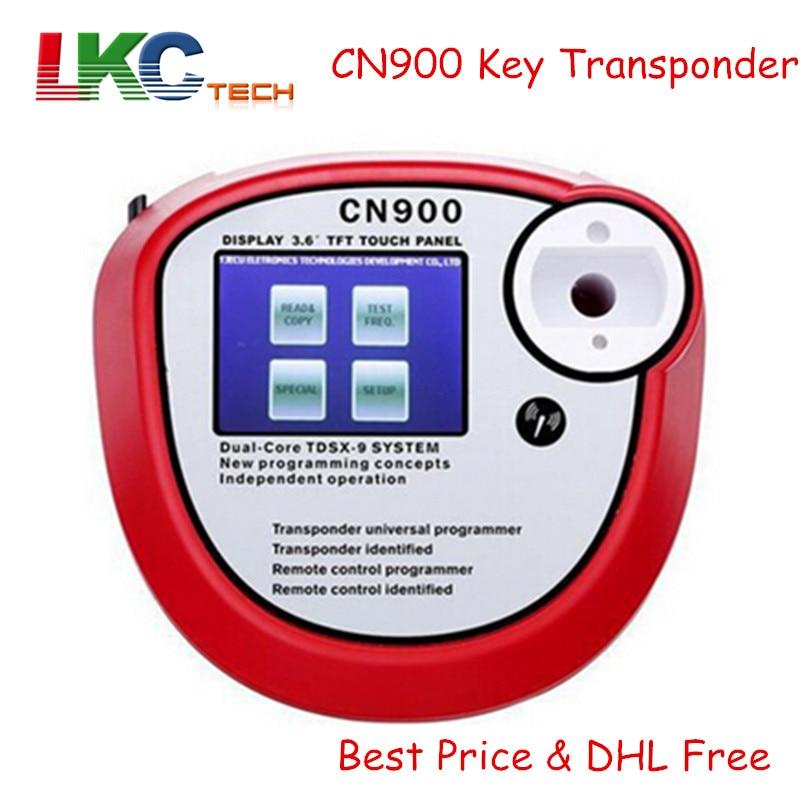 DHL Free CN900 Transponder Key Programmer CN 900 Key Copy Machine V2.02.3.38 Latest Version Auto key Maker CN 900