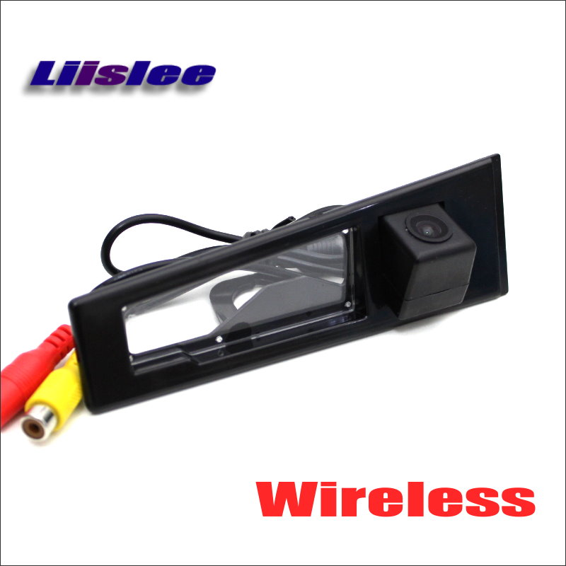 Liislee Reverse Back Up Camera For Cadillac CTS 2008~2014 / Wireless Parking Rear View Camera / HD Night Vision / Plug & Play