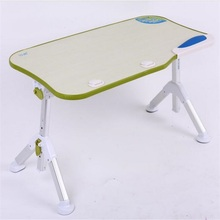 600*330MM Portable lazy household desk Folding Laptop without USB fan