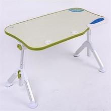 600*330MM Portable lazy household desk Folding Laptop desk without USB fan