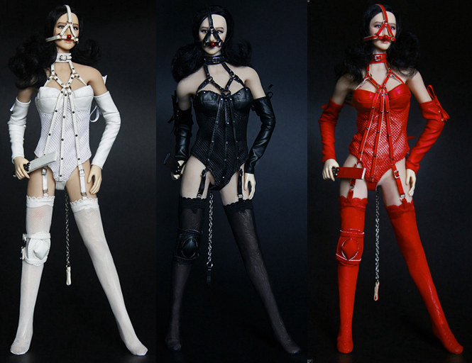 1/6 scale female figure clothes for 12 Action figure doll accessories.girl sexy Uniforms.not include doll and shoes.1625 new sexy vs045 1 6 black and white striped sweather stockings shoes clothing set for 12 female bodys dolls