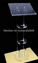 المنبر furnitureFree الشحن الساخن بيع جميلة الاكريليك المنبر منبر Lecternacrylic المنبر
