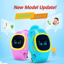 2016 Wrist Watch 520 SOS Emergency Anti Lost GPS Tracker Watch For Kids with Wifi GSM Smart Mobile Phone App Bracelet Wristband