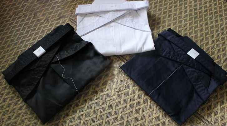 4 色ユニセックス袴剣道制服スーツ hapkido 武道パンツ黒/ダークブルー/ホワイト/レッド