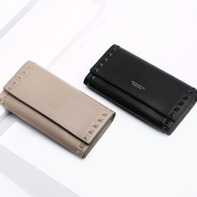 Купить с кэшбэком 2019 New Fashion Cell Phone Purses Women Wallets Female Purse Genuine Leather Purse Coin Purse New Crad Holder Wallet