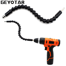 """1/4"""" Hex Shank Flexible Extention Screwdriver Drill Bit Holder Connect Link Magnetic Drill Holder Power Tool Accessoires"""
