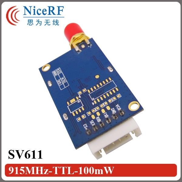 Ingyenes szállítás 2PCS SV611 915MHz TTL interfész vezeték - Kommunikációs berendezések - Fénykép 3