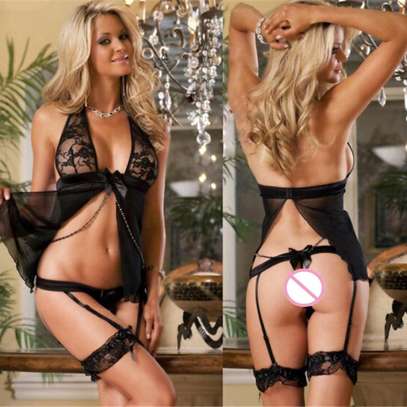 Hot Explosion Models Lace Bra Women Sexy Intimates Lingerie Nightclub Lady Uniform Lingerie Bodydoll Sleepwear Lace