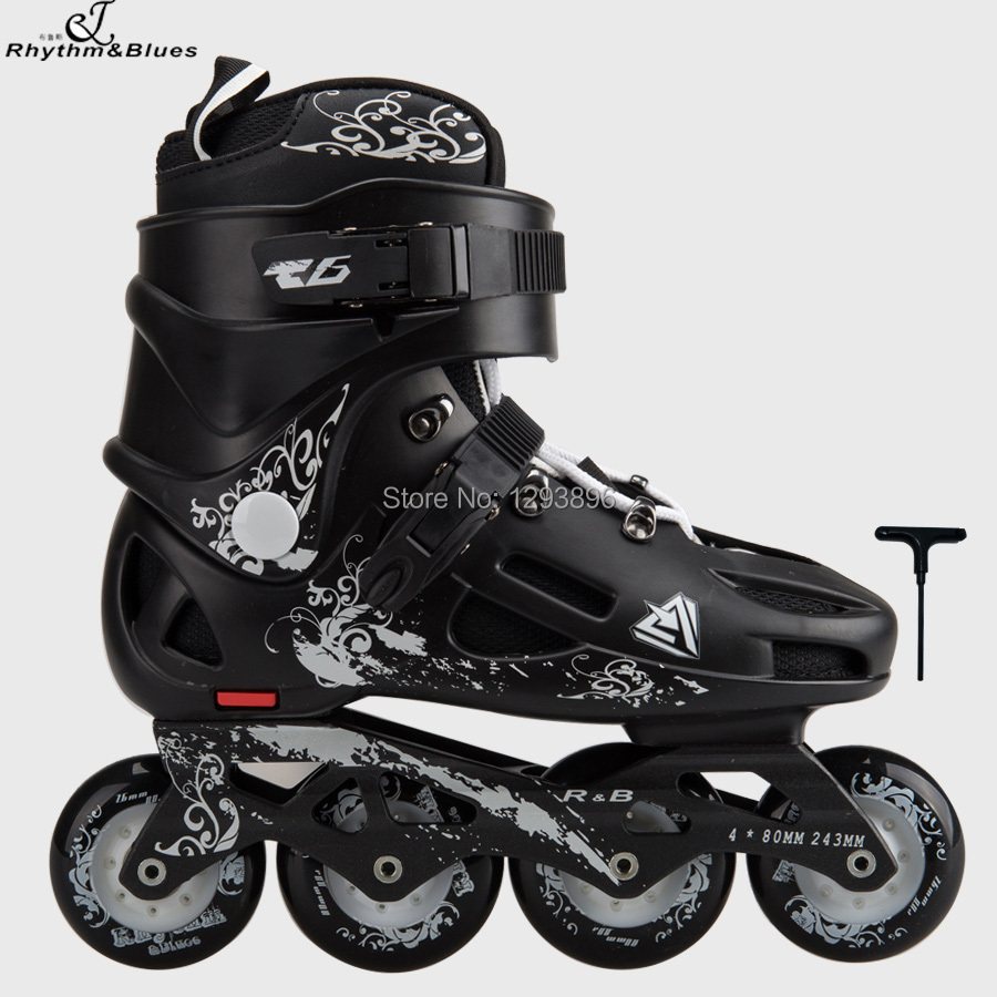 Roller skates for free - Aliexpress Com Buy Free Shipping Adult Skating Shoes Men Single Row Professional Freestyle Roller Skates Women R B T6 Outdoor Sport Rollerblade From