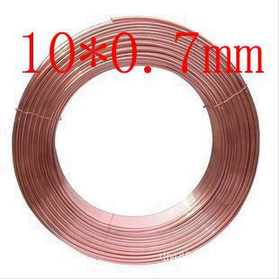 10X0.7mm Copper tube/hose/soft copper pipe/pure copper pipe/tube/coil/air conditioner 4x0 5mm copper tube hose soft copper pipe pure copper pipe tube coil air conditioner