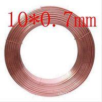 10X0 7mm Copper Tube Hose Soft Copper Pipe Pure Copper Pipe Tube Coil Air Conditioner