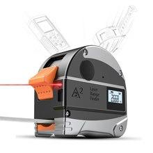 Mini Laser Range Finder Tape Measure 5m/30m M/FT/IN USB Charging High Precision Digital Laser Meter Portable Measure Tool стоимость