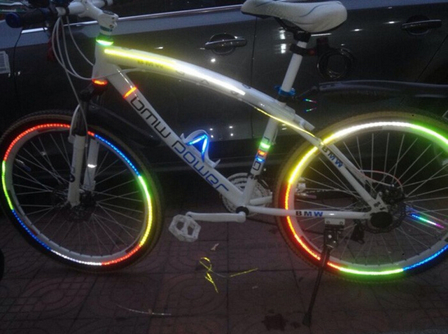 Bicycle Wheel Rim Reflective Stickers
