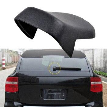 Arka Silecek Kolu Kapak Açma Anahtarı kapatma başlığı Porsche Cayenne 2002-2010 için Siyah Arka Silecek Kolu Kapak Anahtarı Kapağı araba-styling