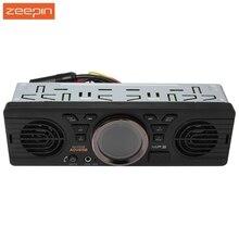Zeepin AV252B автомобиля 1 din стерео Радио аудио плеер встроенный Bluetooth 2.1 + EDR с заранее 18 станций fm время Дисплей авторадио