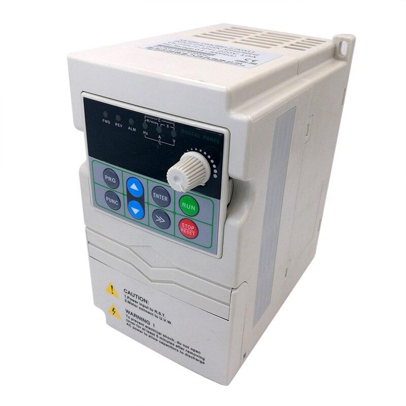 DMC880 VFD Frequency Converter Frequency Inverter 0.75 1.5 2.2kw 220V Single Phase 380V 3 Phase Input