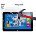 2pcs Explosion-proof Nano soft film For CUBE i7 Stylus Intel Core M Windows 10 Tablet PC 10.6'' waterproof screen protector film