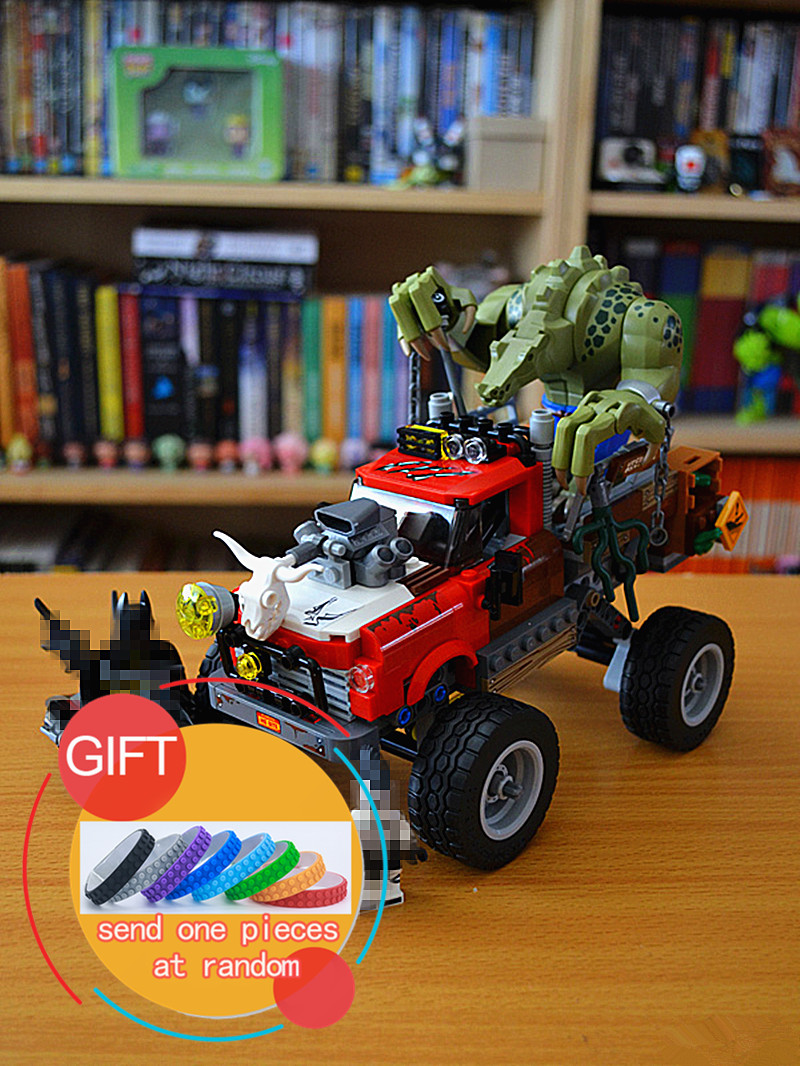 07051 460PCS The Claic Movie erie The Killer Crocodile Tail-Gator compatible with 70907 Building  Educational  toy lepin