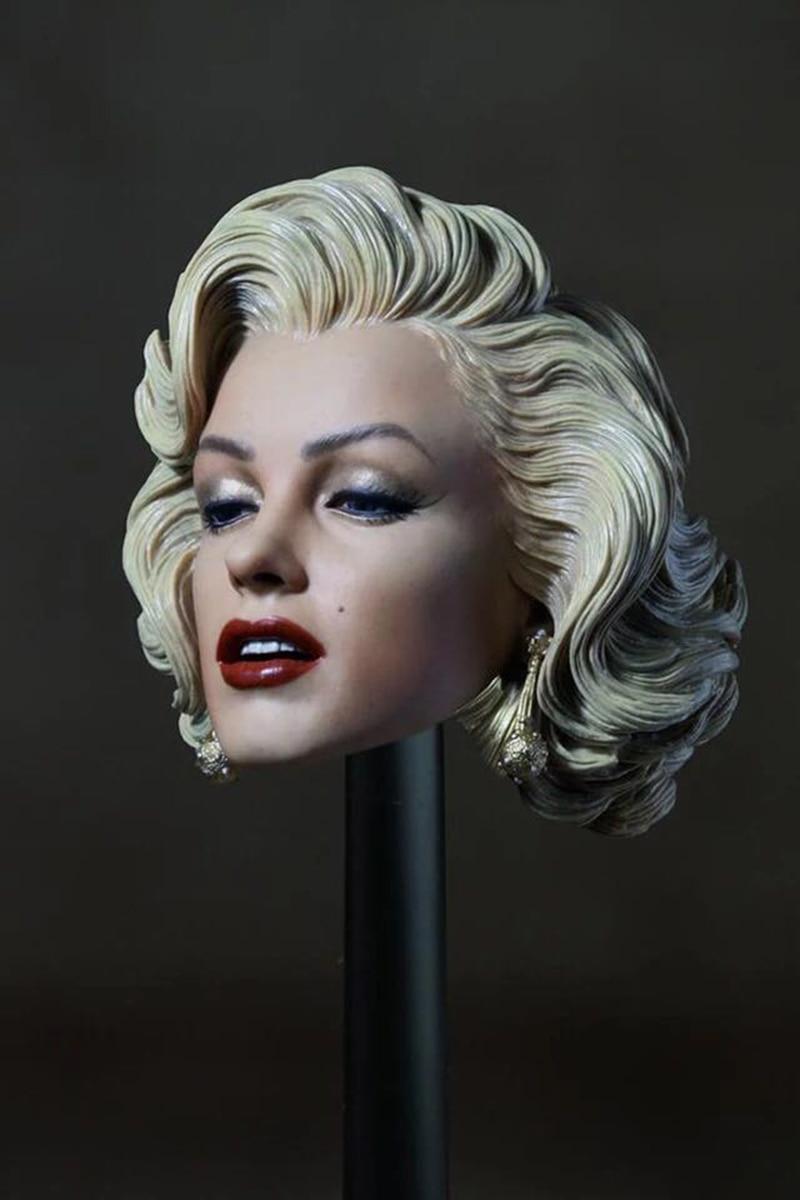 1/6 Marilyn Monroe Head for 12''Female Bodies цена 2017