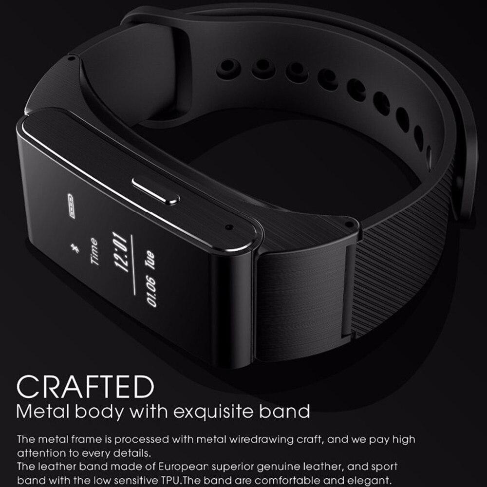 M8 Smart Bnad Bracelet Talkband Wireless Bluetooth Headphone Headset Talk Band Pedometer Fitness Monitor Wristband PK Huawei B2