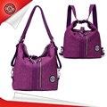 Jinqiaoer multifunción impermeables de nylon de las mujeres bolsa de viaje informal bolso de hombro bolsas de mensajero de alta calidad 9822