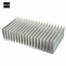 Лучшая Цена 182x100x45 мм Алюминиевый Радиатор Радиатор для СИД Наивысшей Мощности Усилитель Транзистор Hot Sale электротехническая Керамика