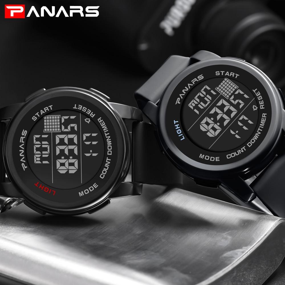 Sport Digital Watches Men Watch PANARS B