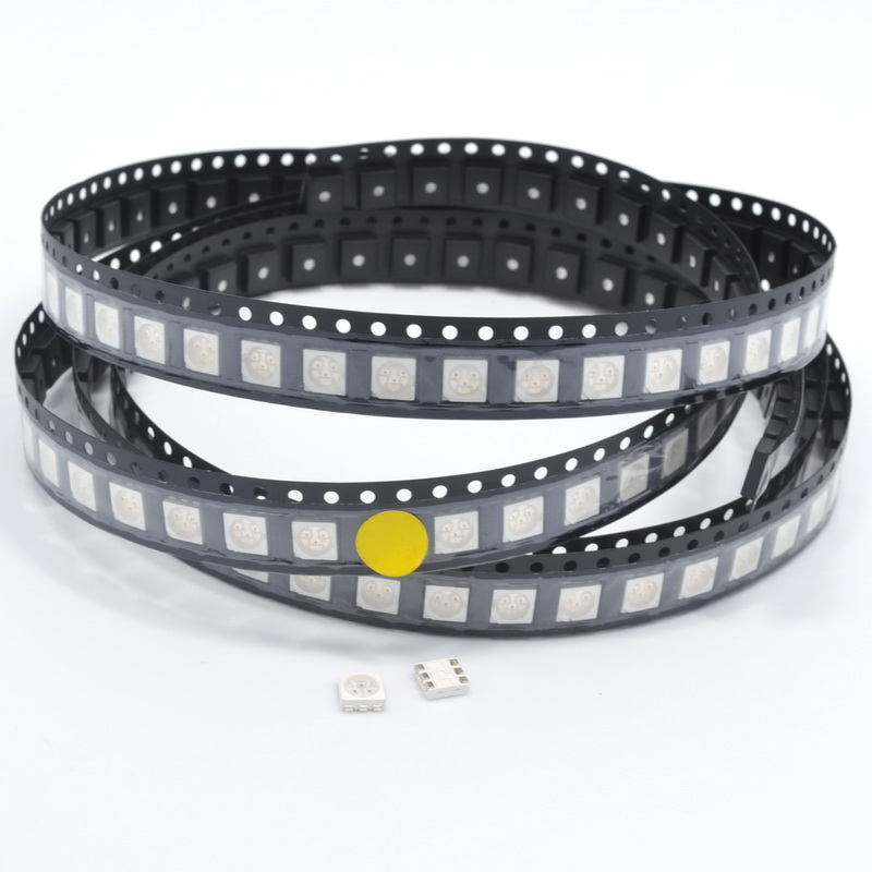 Lighting Accessories 100% True 500pcs Yellow Plcc-6 5050 Smd Smt Diode 588~590nm 500~700mcd Led 3-chips Ultra Bright Light-emitting Diodes Led Green Product Packing Of Nominated Brand