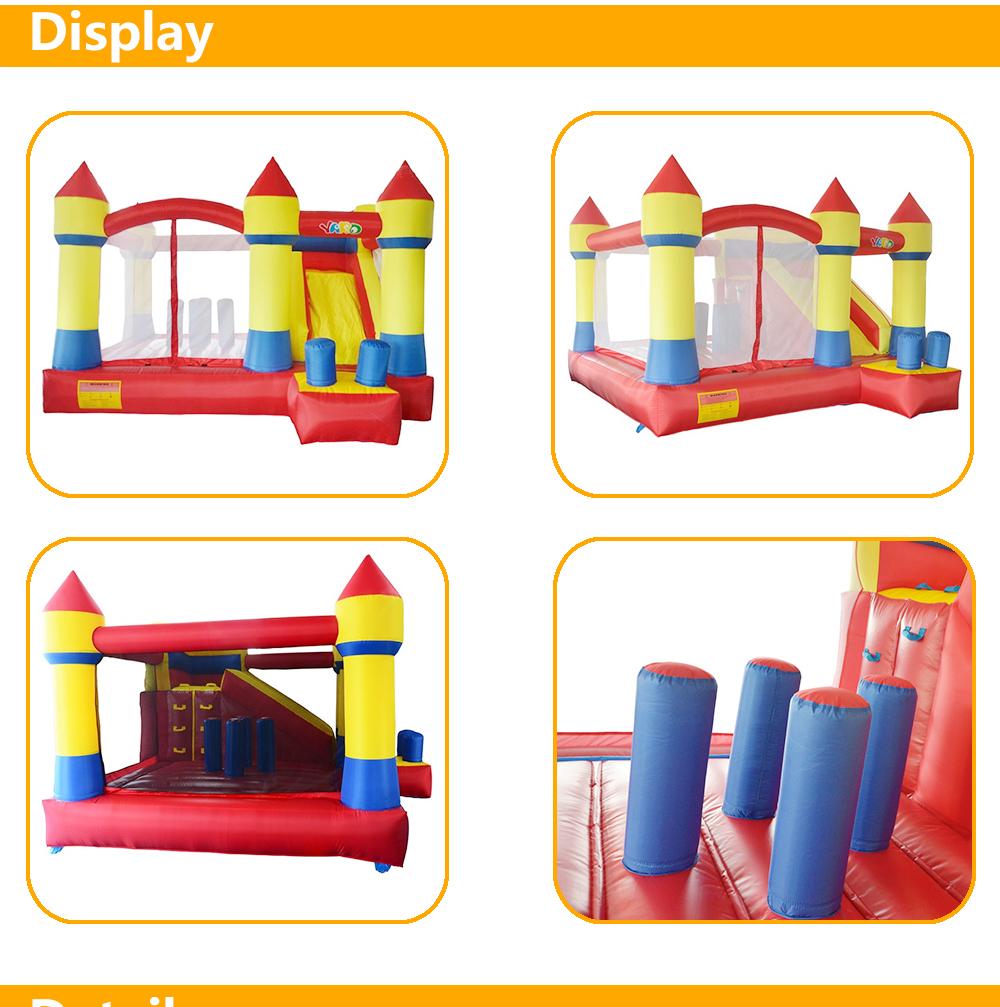 HTB1hVo6SXXXXXXsXXXXq6xXFXXXN - YARD Commercial Grade Oxford Inflatable Bouncy Castle Slide Combo with Blower