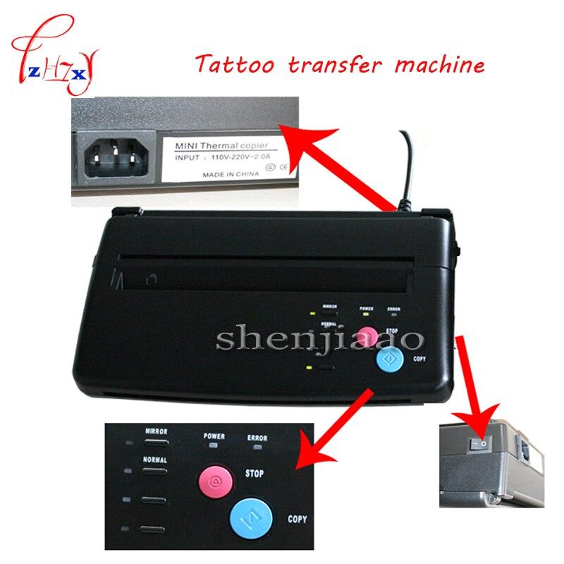 110V-220V NEW Design Tattoo Transfer Machine I175 Tattoo Thermal Copier Printing Transfer Format A4 With English manual110V-220V NEW Design Tattoo Transfer Machine I175 Tattoo Thermal Copier Printing Transfer Format A4 With English manual