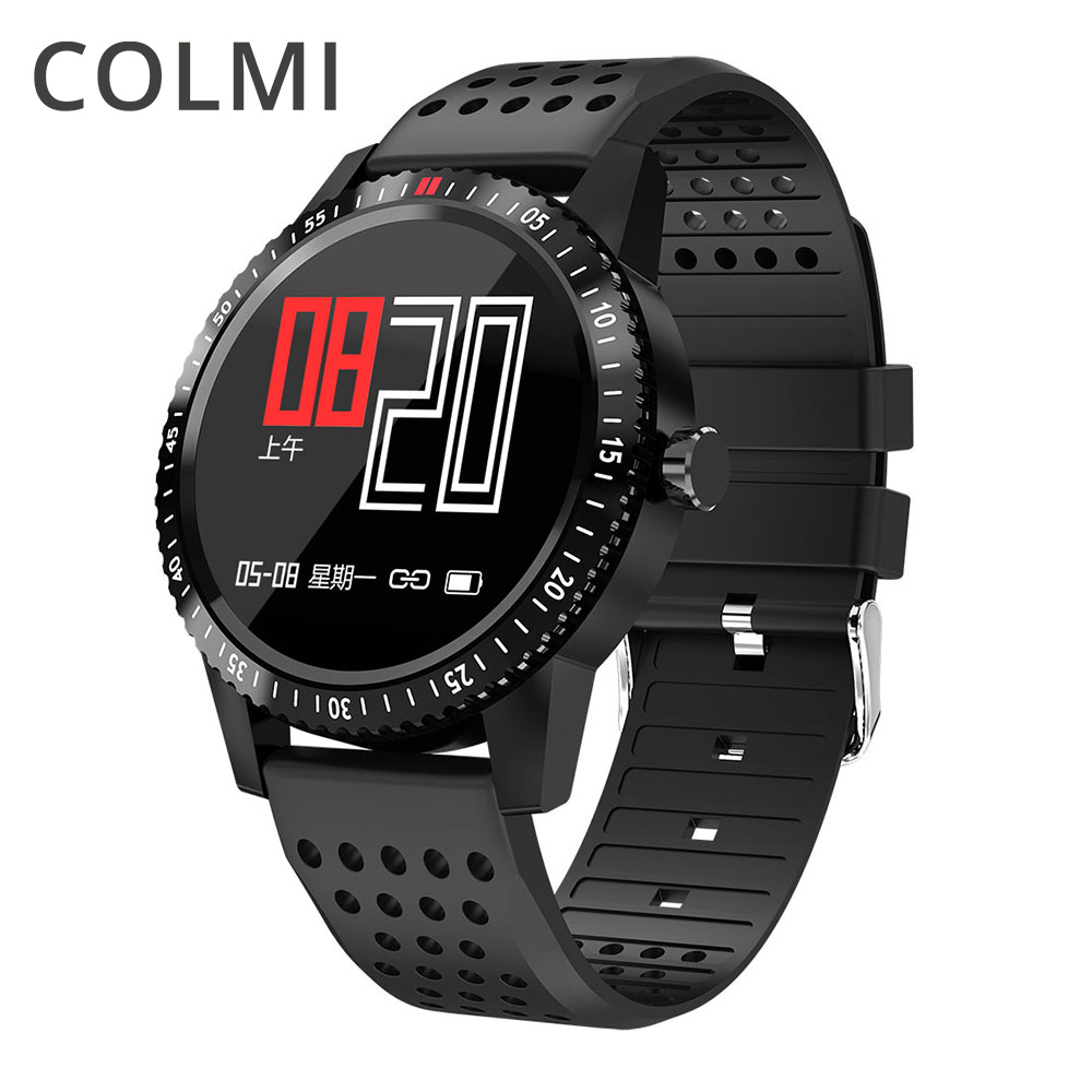 COLMI IP67 Smartwatch À Prova D' Água Wearable Dispositivo Visor a Cores de Monitor de Freqüência Cardíaca Relógio Inteligente Para Android IOS