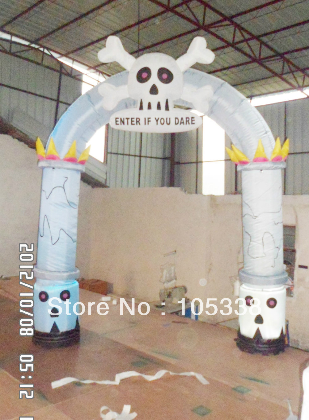 Outdoor inflatable halloween decorations - Gemmy Inflatable Archway Gate 10 Outdoor Halloween Decorations In Festive Party Supplies From Home Garden On Aliexpress Com Alibaba Group