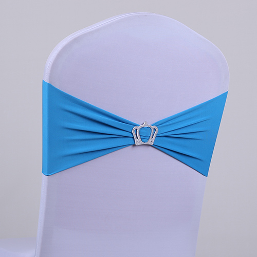 Elastic bowknot decoration elastic belt chair cover bandeaus ribbon wedding spandex bowknot in Chair Cover from Home Garden