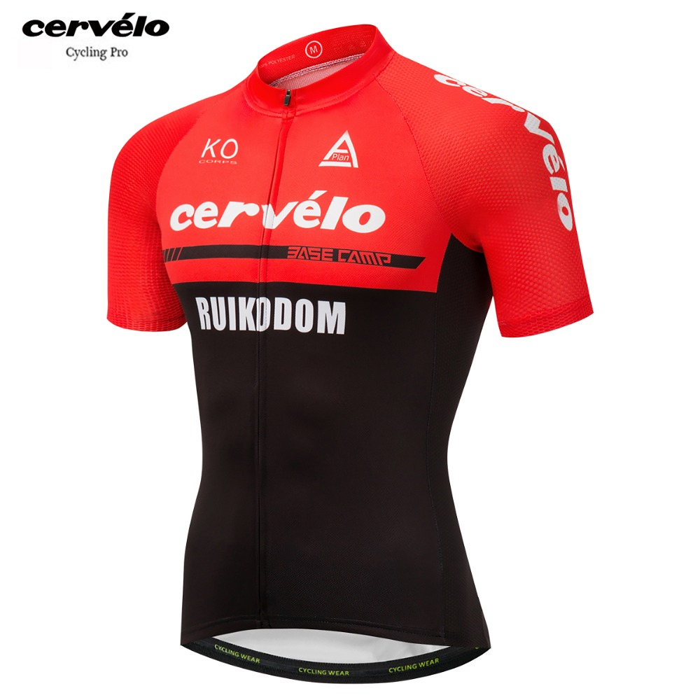 2018 Men s Short Sleeve Cycling Jersey Quick Dry Bike Clothing Summer  Bycicle Shirt Pro Team Ropa 2194b2548