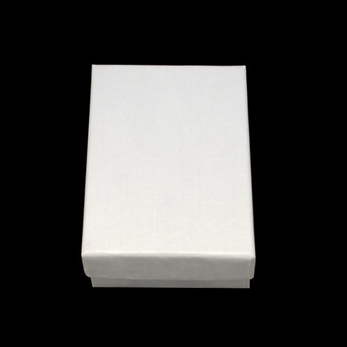 60pcs Jewelry Set Boxes Rectangle White Black Gift Boxes for