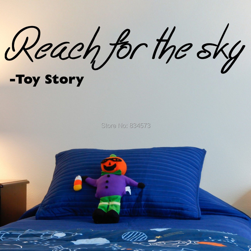 TOY STORY Kids Films Reach Wall Art Stickers Wall Decal Home DIY Decoration  Decor Wall Mural Part 53