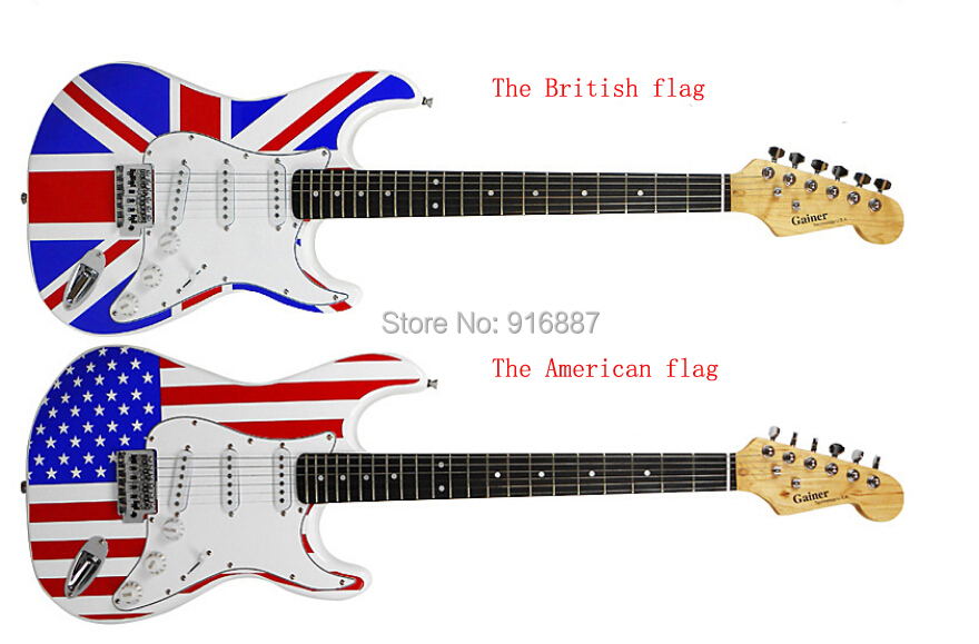 Electric Guitar manufacturers selling fashion lightning cover ...