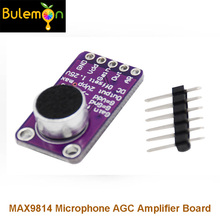 3pcs/lot MAX9814 Microphone AGC Amplifier Board Module Auto Gain Control for Arduino