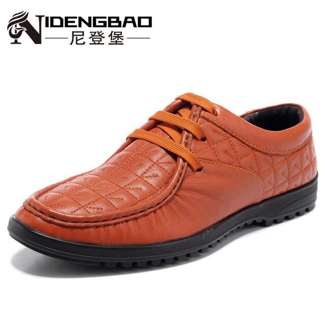 les chaussures de cuir façon nidengbao les masculins chaussures correspondent tous masculins les occasionnels 6a509b