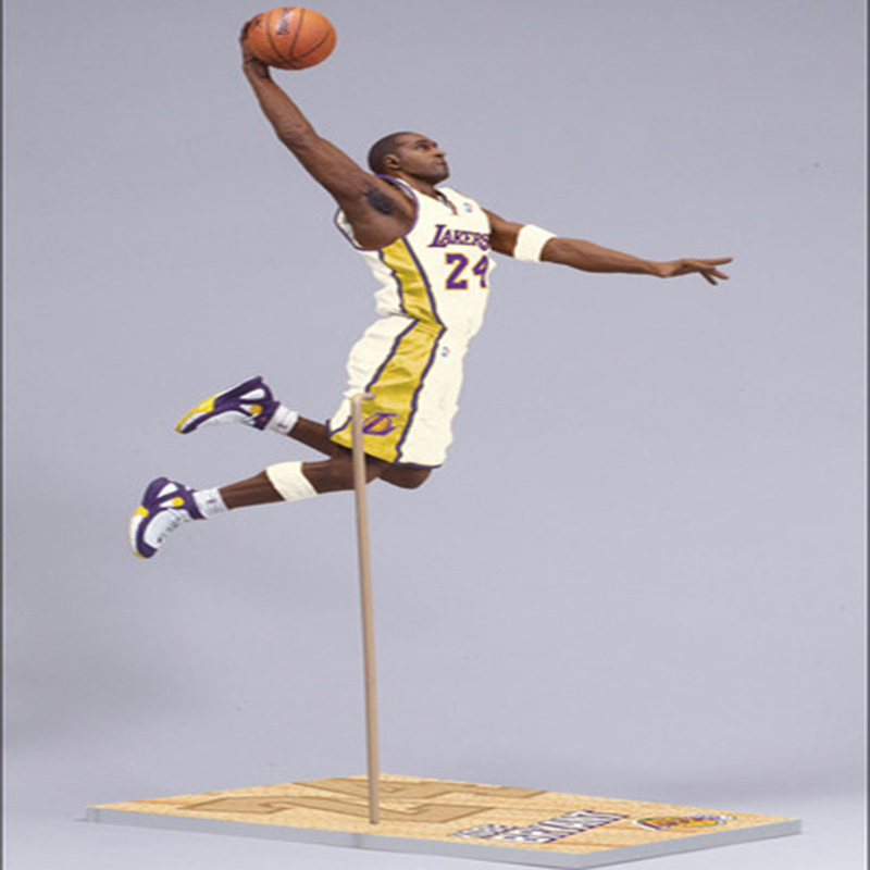 New arrive NBA star limited edition Kobe Bryant   Action Figure Model Toys Collections Dolls Christmas present nba basketball characters kobe james curry kyrie john damian 10cm action figure toys