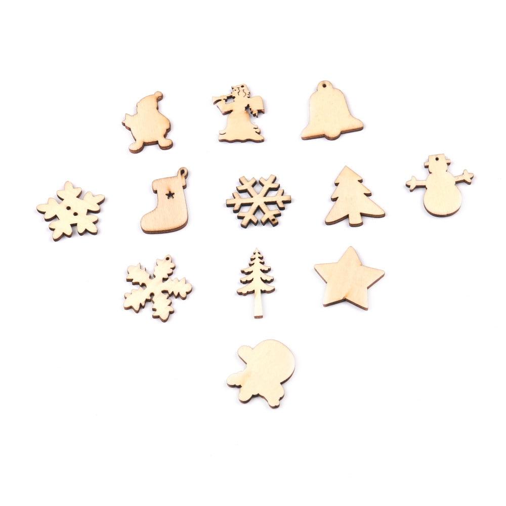 50PCS Χριστουγεννιάτικα νιφάδες - Προϊόντα για τις διακοπές και τα κόμματα